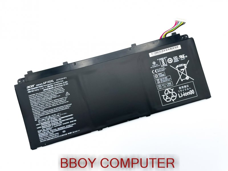 ACER Battery แบตเตอรี่ ACER AP15O5L SPIN 5 SP513-52N SWIFT 1 SF114 SWIFT 5 SF514-5132