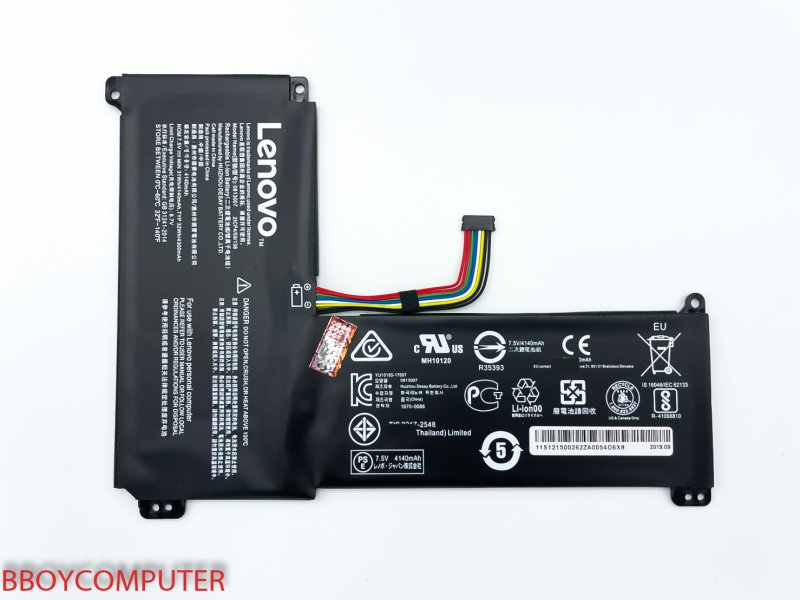 LENOVO Battery แบตเตอรี่แท้ LENOVO Ideapad 120S-14 120S-14IAP