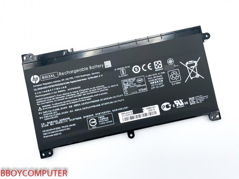 HP Battery แบตเตอรี่แท้ HP Pavilion BI03XL ON03XL X360 13-U HP Stream 14-AX