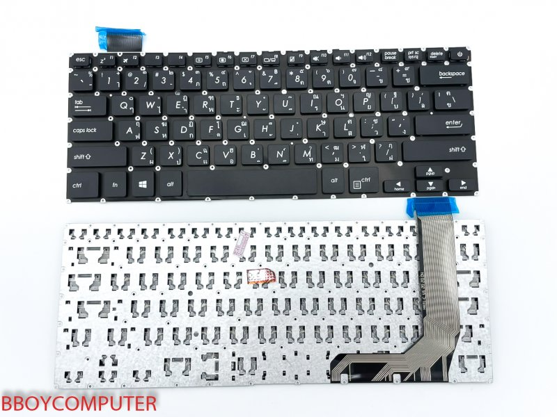 ASUS Keyboard คีย์บอร์ด Asus X407U X407M ไทย อังกฤษ