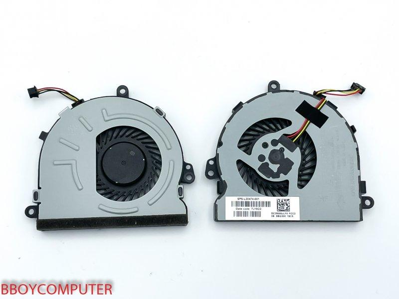 HP CPU Fan พัดลมโน๊ตบุ๊ค HP 250 G7 255 G7 256 G7