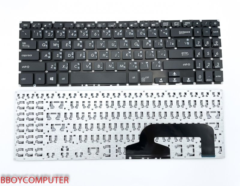 ASUS Keyboard คีย์บอร์ด  ASUS X507 X507U TH-EN