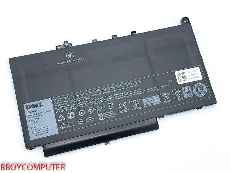 DELL Battery แบตเตอรี่ ของแท้  Dell Latitude 7CJRC  E7270 E7470
